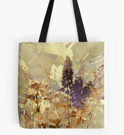 floral sur beige/floral on beige Tote Bag