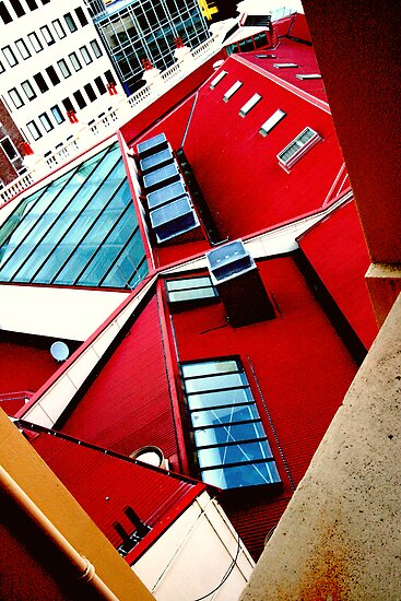 red roofs by studiofascino