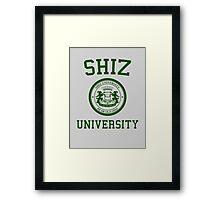 "Shiz University - Wicked ""Elphie"" Version Framed Print"