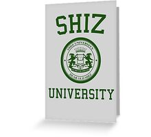 "Shiz University - Wicked ""Elphie"" Version Greeting Card"