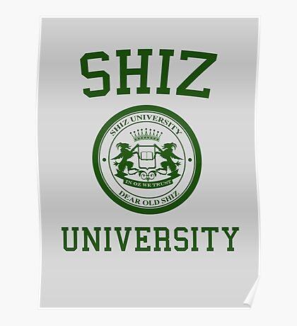"Shiz University - Wicked ""Elphie"" Version Poster"