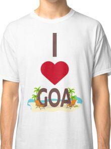 I Love Goa Classic T-Shirt