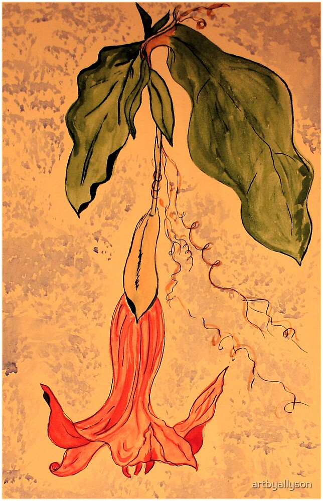 Trumpet Flower by Allyson Kitts