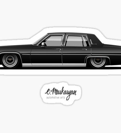 Cadillac Fleetwood Sticker