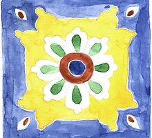 Talavera Tile 101 by James J. Barnett