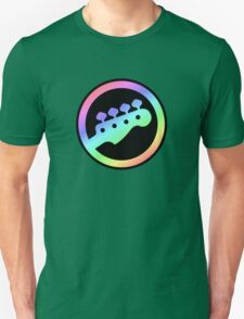 Bass  4 Keys Colorful Unisex T-Shirt