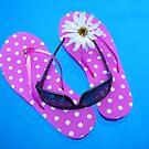 Flip Flop Float by Maria Dryfhout