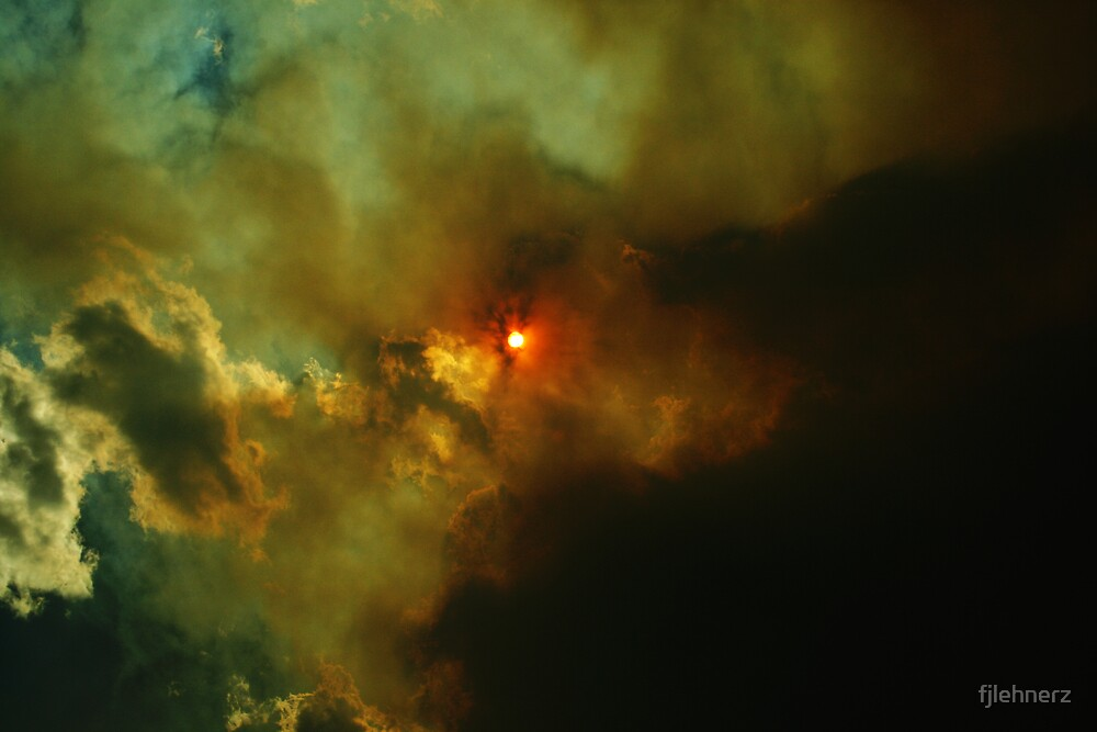 Eclipsing Sun by fjlehnerz