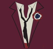 Enjolras Suit T-Shirt by Johanna Martinez