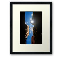 shining down on me Framed Print