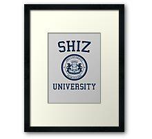 Shiz University - Wicked Framed Print