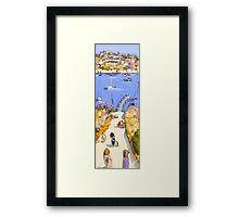 West end waters Framed Print