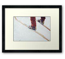 Winter Break Framed Print