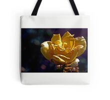 Dusty Yellow Rose Tote Bag