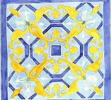 Talavera Tile 117 by James J. Barnett