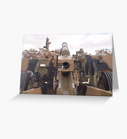 photoj South Australia, Army Canon Greeting Card