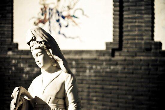 Kuan Yin Temple - Statue by Marcus Mawby