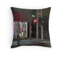 Moonee Ponds Throw Pillow