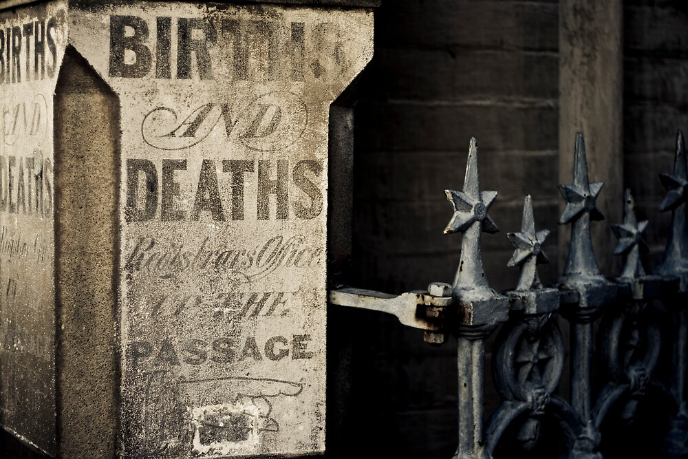 Births & Deaths by Marcus Mawby