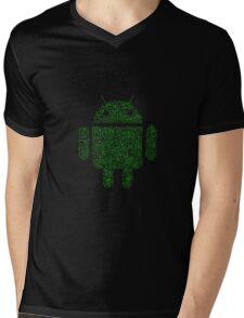 Code-droidv1.1 Mens V-Neck T-Shirt