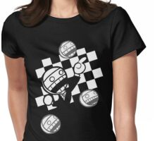 Ghostrace Lawface Womens Fitted T-Shirt