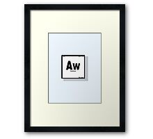 The Element of Cuteness Framed Print