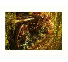 Cart Art Print