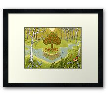 Magic forest Framed Print