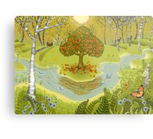 Magic forest Metal Print