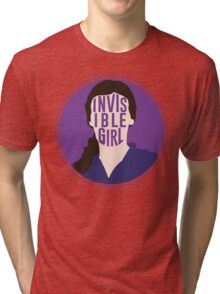 Invisible Girl Tri-blend T-Shirt