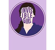 Invisible Girl Photographic Print