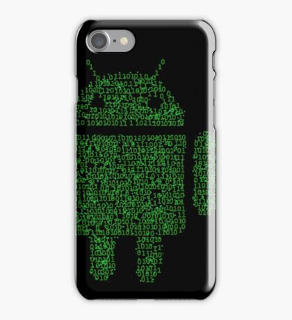 Binary-droidv1.1 iPhone Case/Skin