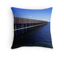 Middle Brighton Throw Pillow