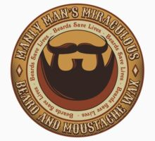 Manly Beard Wax Kids Clothes