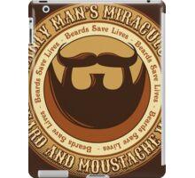 Manly Beard Wax iPad Case/Skin