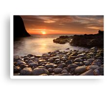 Sun and Stone Canvas Print