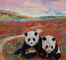 Pandas by Michael Creese