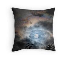 Full Moon Magic Throw Pillow