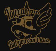 You can run (Golden) by DemonigoteTees