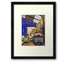 City 17 Depot Framed Print