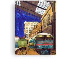 City 17 Depot Canvas Print