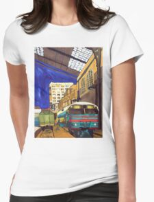 City 17 Depot Womens Fitted T-Shirt