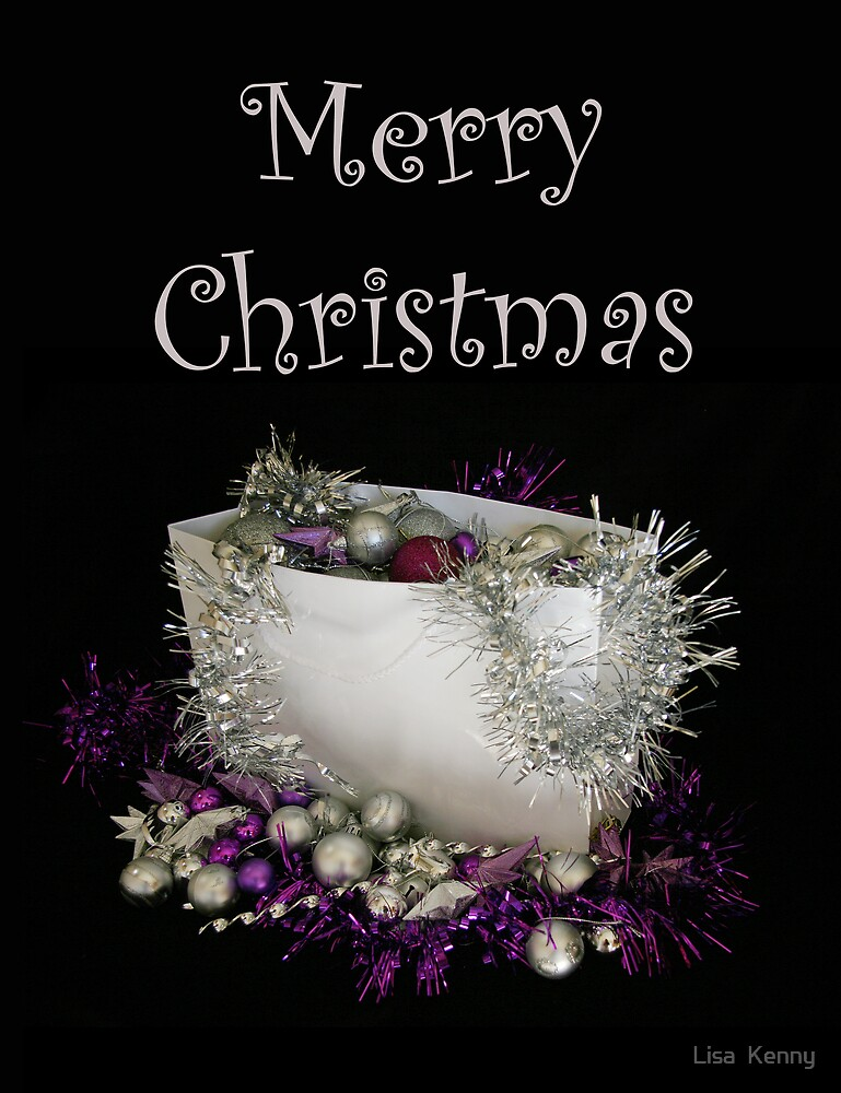 christmas present by Lisa  Kenny