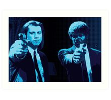 Vincent and Jules - Pulp Fiction (Variant 2 of 2) Art Print