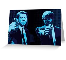 Vincent and Jules - Pulp Fiction (Variant 2 of 2) Greeting Card