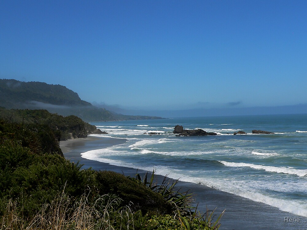 West Coast South Island NZ by Rene