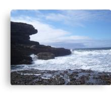 Sky, Rocks, Sea Canvas Print