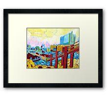 Mercy Island Framed Print