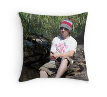 joe cool Throw Pillow