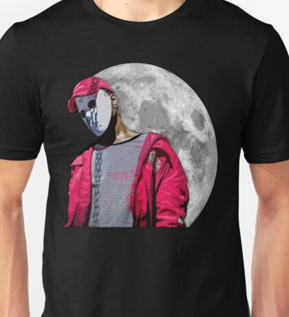 Lunar Ski Mask Slump God Unisex T-Shirt